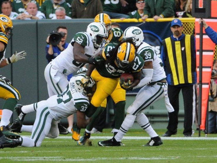 Packers run game has been grounded