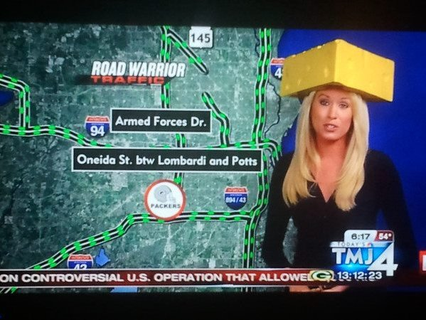 my news traffic girl is way hotter than yers!! | Page 3