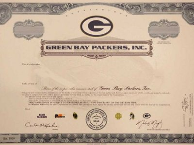 Packers stock: worthless to some, priceless to others
