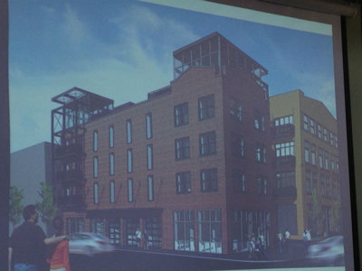 Initial plans introduced for redevelopment at former Paintball Dave's building
