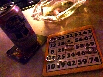Bingo at the 'Mino
