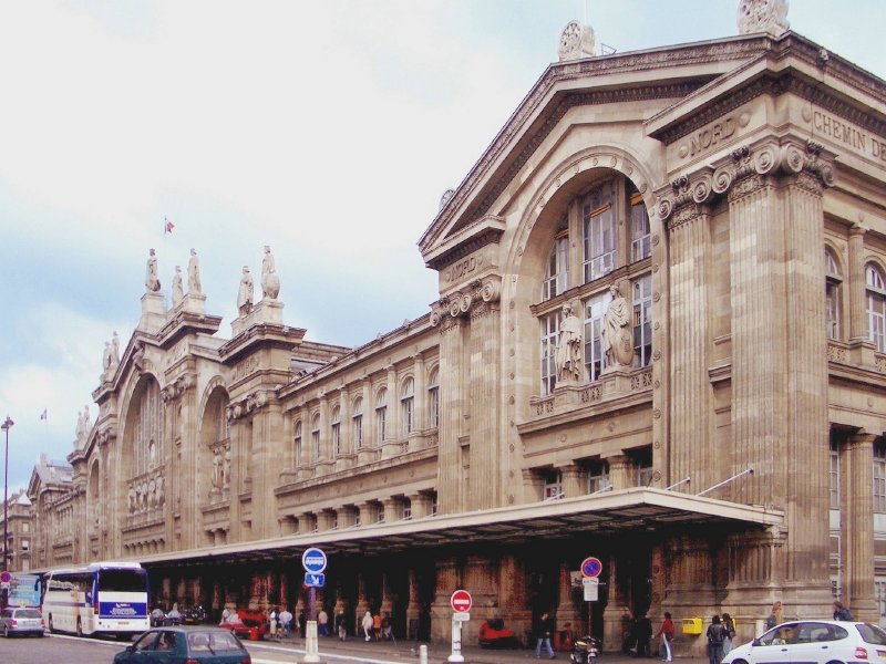 Paris' busy Gare du Nord railway station would be a prime spot for food trucks.