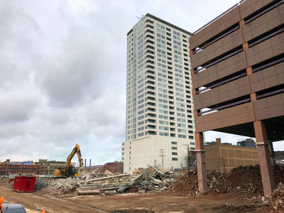 Park East demolition Image
