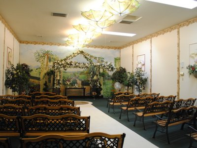 Parkside Wedding Chapel provides a plethora of services