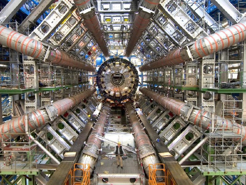 "The particle collider at the heart of ""Particle Fever."""
