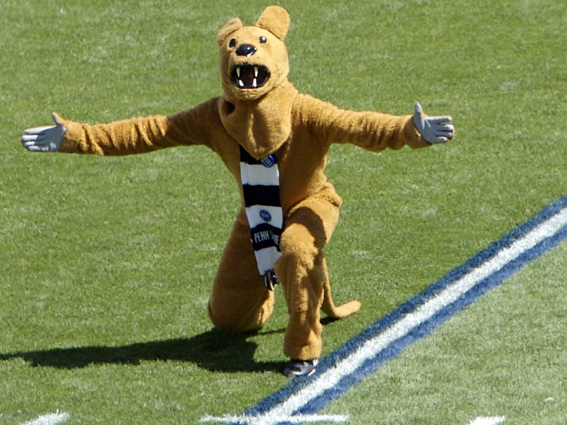 Penn State's Nittany Lion mascot