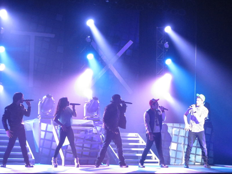 Pentatonix put on a pitch perfect show at the Pabst Sunday night. Photo courtesy of Peter Setter