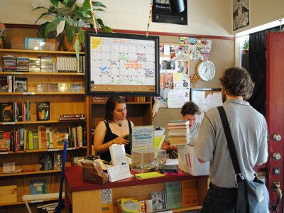 Democratically run People's Books provides alternative lit, space