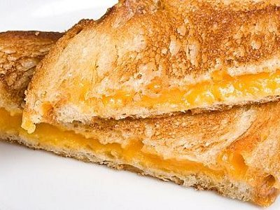 Perfect grilled cheese