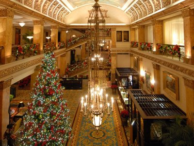 The Pfister tree lighting Image