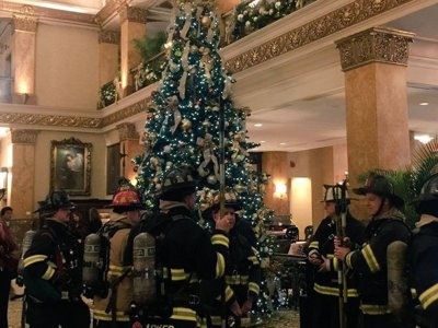 Fire breaks out at The Pfister Hotel