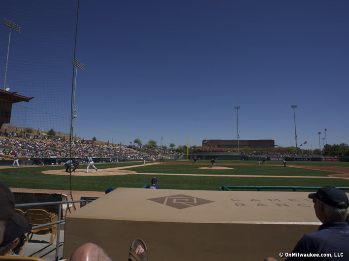 It was a dry heat on Sunday in Glendale.