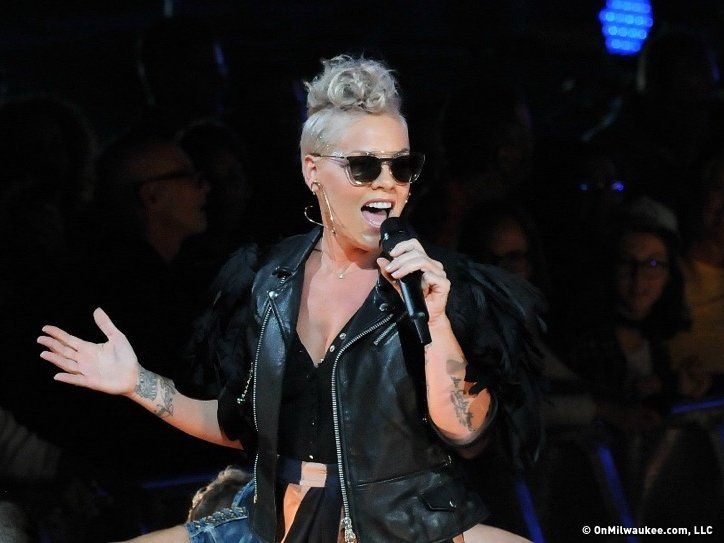 After a near-four-year hiatus, P!nk's rock moves still resonate - OnMilwaukee