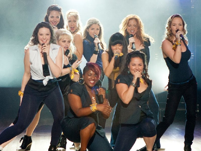 """Pitch Perfect"" is in theaters now."