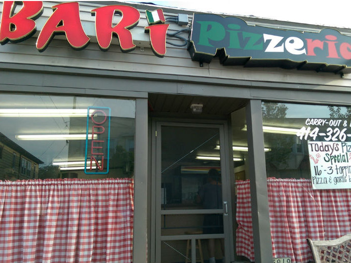 Bari Pizzeria is located at 5919 W. Burnham St. in West Allis.