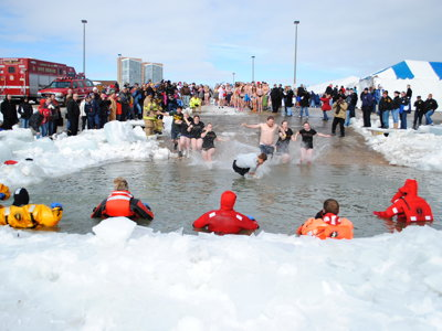 Not cold enough yet? The Polar Plunge returns