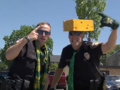Wisconsin police department lip sync challenge videos