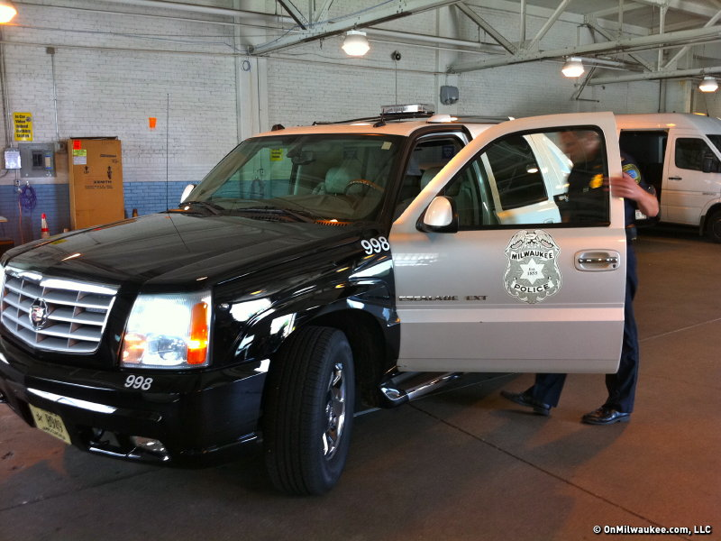 Seized Milwaukee Police Escalade Sends Message To Citizens