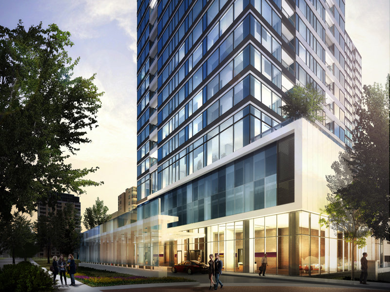 Mandel announces 24-story Portfolio apartment tower on Ogden ...