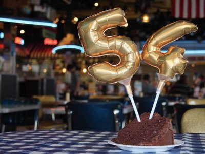 You can have your cake for 54 cents and eat it too at Portillo's on Thursday