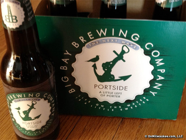 """Portside: A Little Left of Porter"" debuted last winter, when Big Bay offered it on draft. But this year marks the the porter's first appearance in bottles."