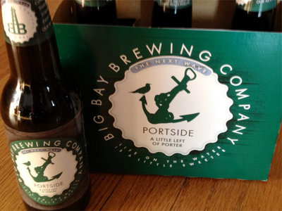 Big Bay's limited Portside porter is in bottles this winter