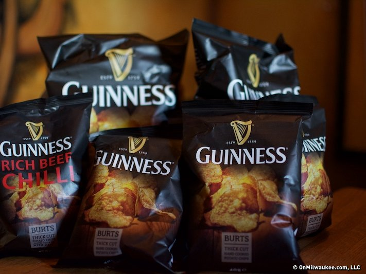 Guinness potato chips may or may not be available in Milwaukee.