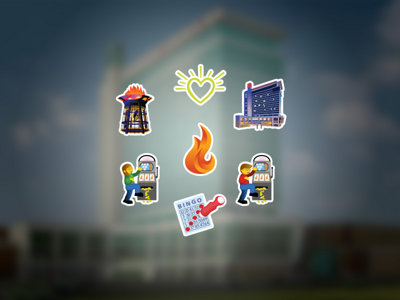 New Potawatomi Hotel & Casino emojis are here