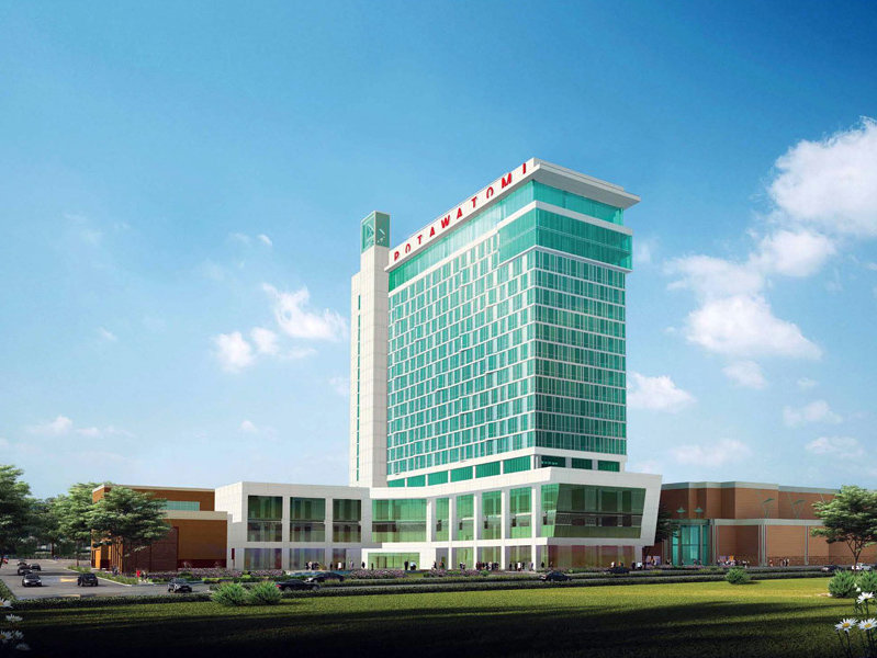 The new Potawatomi Bingo Casino Hotel is slated to open in autumn.