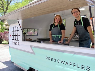 Forget what you know about Belgian waffles: Meet Press