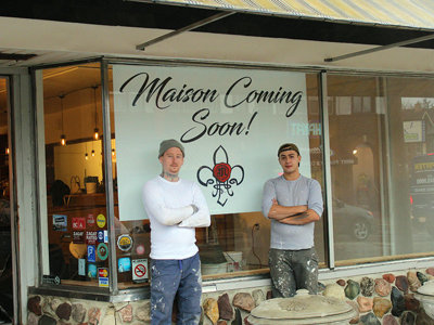 Progress continues on Maison French restaurant in Washington Heights