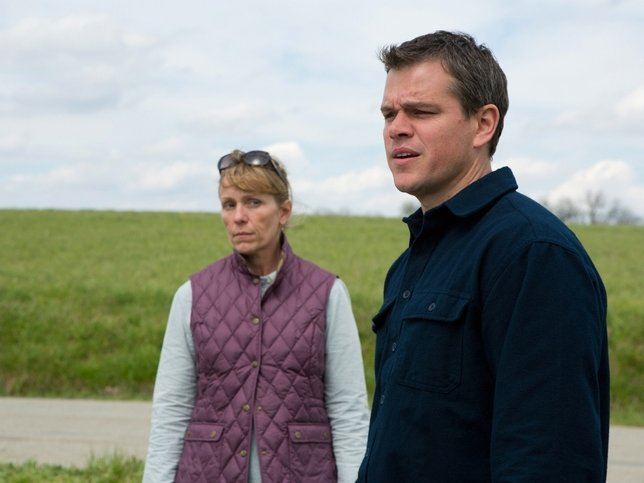 "Matt Damon and Frances McDormand star in ""Promised Land."""