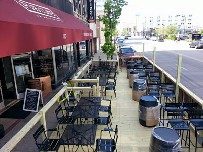 The Pub Club launches new streetside deck