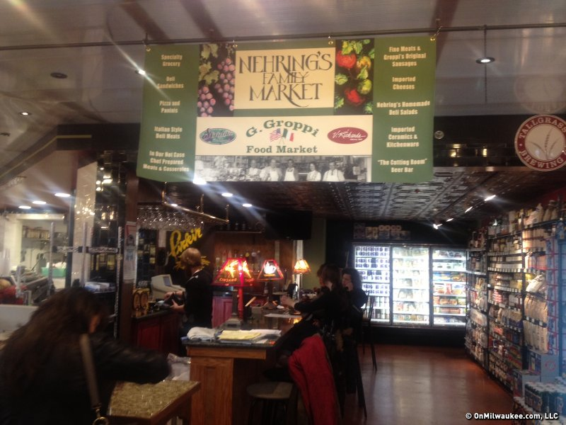 Nehring's Market opened quietly yesterday.