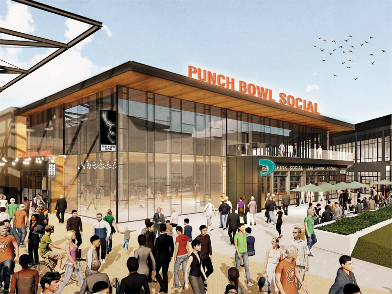 Punch Bowl Social Will Open In Bucks Entertainment Block Next