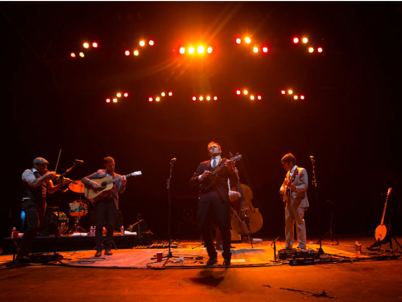 Punch Brothers put on a rollicking old-fashioned folk hoedown Friday night at Summerfest.