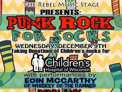 Punk Rock For Socks Image
