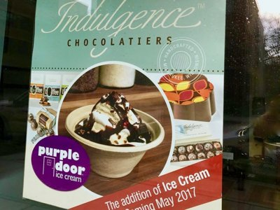 Purple Door Ice Cream comes to Indulgence in Shorewood