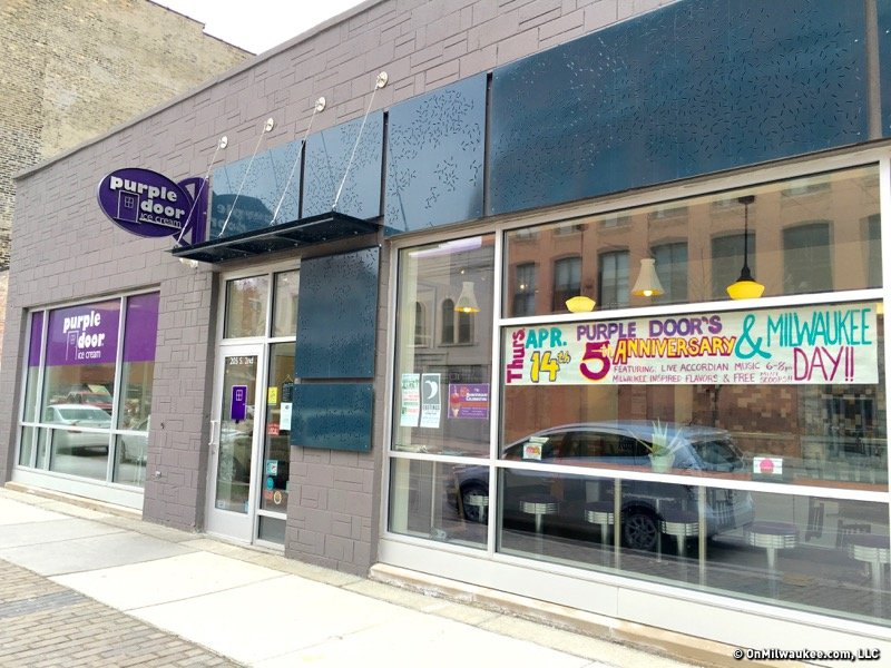 Purple Door is celebrating its anniversary on Milwaukee Day and that means ice cream for everyone! & Purple Door celebrates Milwaukee Day with 12 special ice cream ...