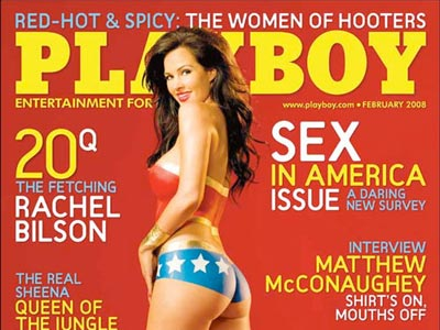 Guess where Playboy magazine is printed?
