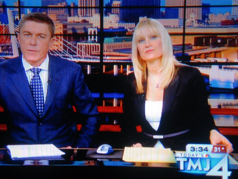 Channel 4's George Mallet and Courtny Gerrish aren't always this serious.