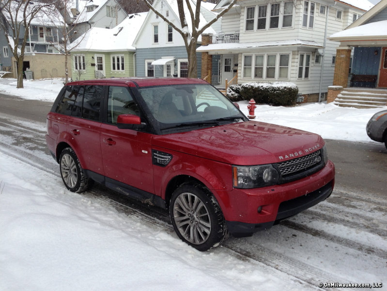 Range Rover Sport Laughs At Wisconsin Winter Onmilwaukee