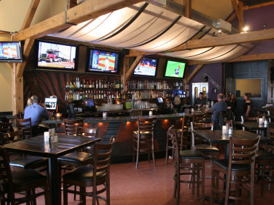 Karma's the spot to watch the big game-- they have 17 HD televisions.