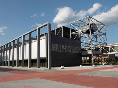 Milwaukee's Harley-Davidson Museum attracts around 300,000 visitors each year.