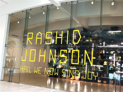Rashid Johnson goes big for MAM show