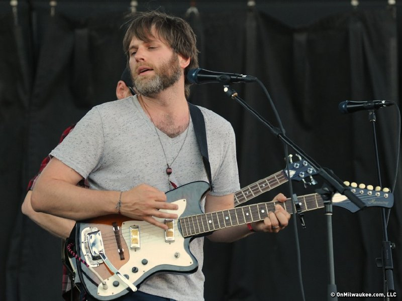 Chicago's Fruit Bats, fronted by Kenosha native Eric Johnson, followed on the U.S. Cellular Stage.