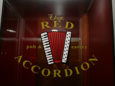 Red Accordion is closed Image