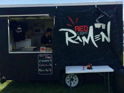 Mobile ramen and BBQ  Image
