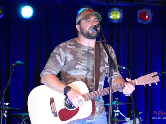 Tyler Farr at The Rave in July.