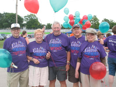 Relay for Life: Cancer survivor walks in grief and celebration